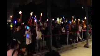 水樹奈々台灣演唱會2013 場外組,一樣的熱情,一樣的熟練度w よく訓練さ...