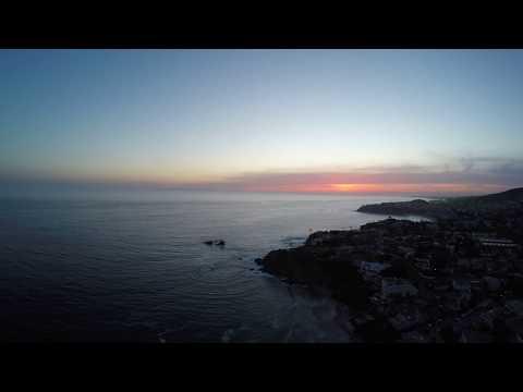 Aerial - Malibu Oceanside [4K]