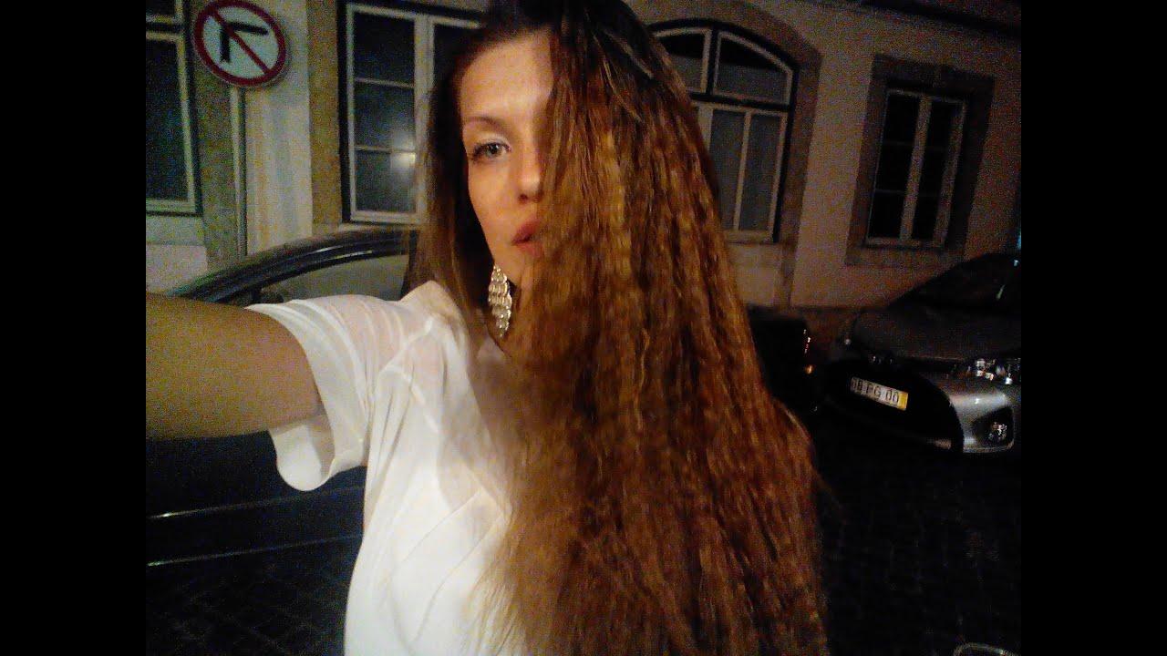 Как сделать волнистые волосы с помощью косичек 527