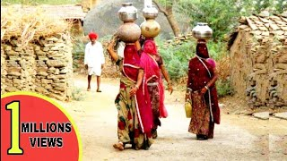 India Village Tour Rajasthan - Lifestyle Of Village Community   Middle Of Desert Motorcycle Trip