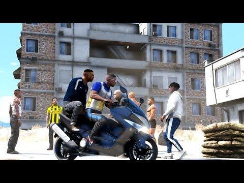 GTA 5 FRANCE - LA CITÉ LA PLUS DANGEREUSE DU PAYS  - STREETZER #18