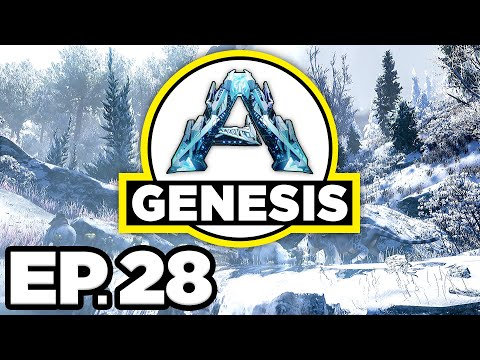 ark:-genesis-ep.28---teching-up-the-new-base,-fair-vanilla-armor!!!-(modded-gameplay-/-let's-play)