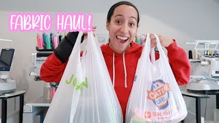 HOBBY LOBBY AND JOANN SHOP WITH ME FABRIC HAUL 2021! Best Selling Fabrics for my embroidery business