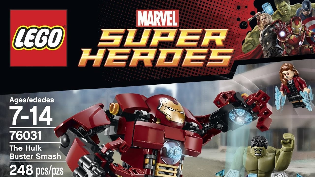 The Hulk Buster Smash - LEGO set #76031-1 (NISB) (Building Sets ...