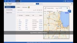 vtiger google maps routes directions integration