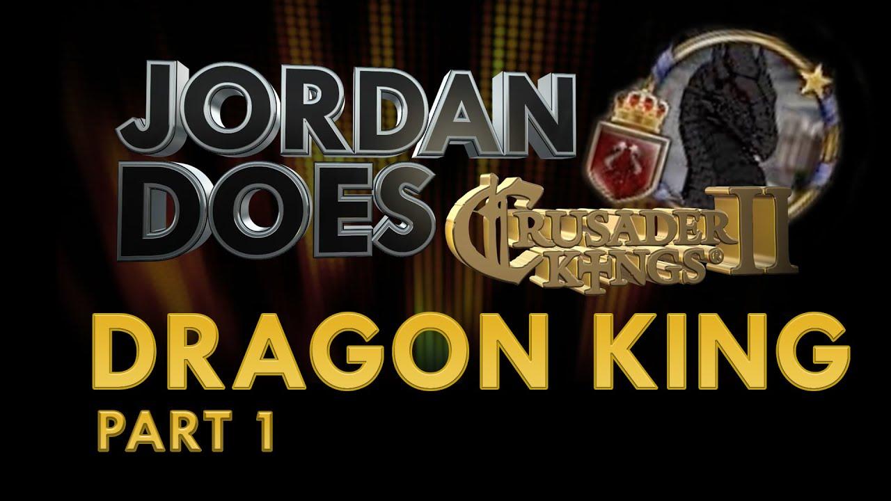 Part 1 - CK2 Dragon King Lets Play - `The Dragons Keep  `