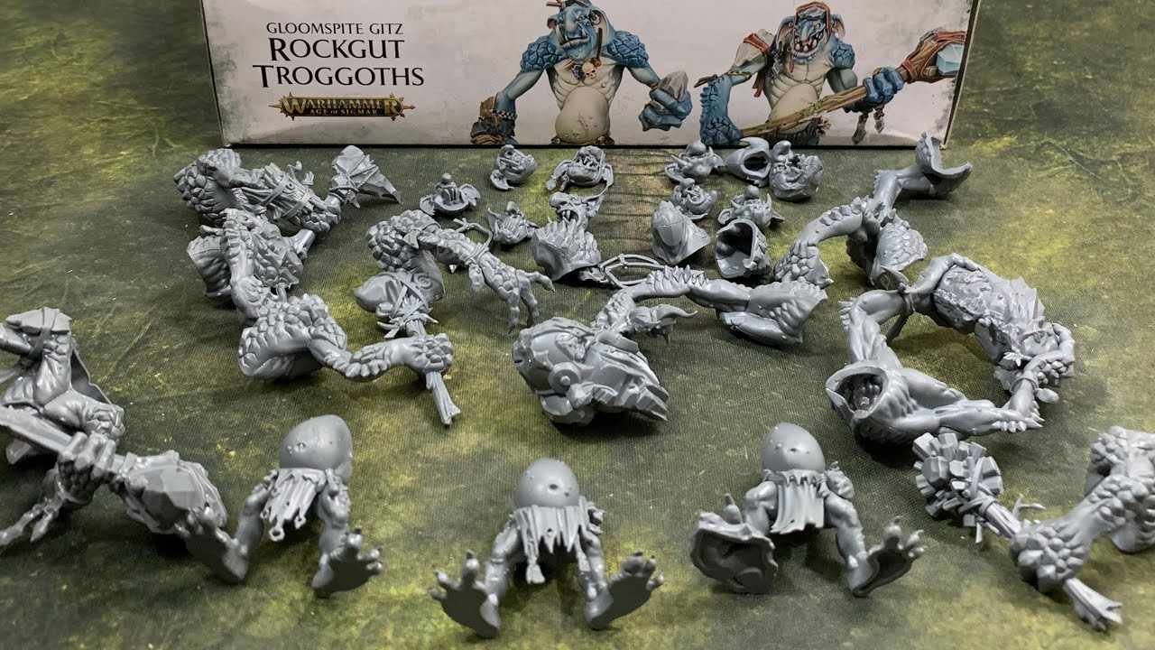 Rockgut Troggoths: GW's Most Impressive Kit #1
