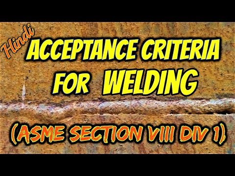 Hindi/Urdu] How to find acceptance criteria in Code (ASME