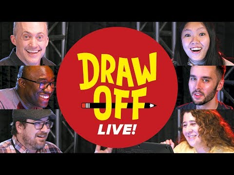 Draw-Off Live  We Draw Your Suggestions  Draw Off