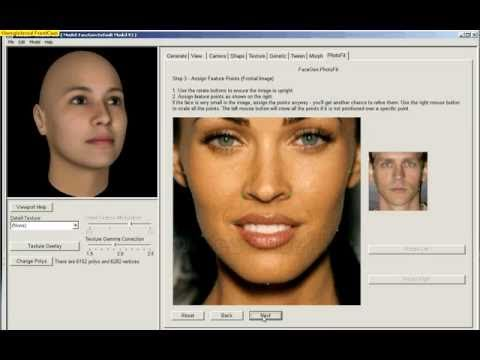 FaceGen & Blender Tutorial & Magan