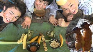 【アマゾン4】幼虫うまい?南米民族の生活を隠すことなく見せます!! thumbnail