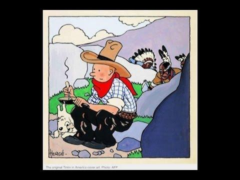 """Rekor Penjualan Sampul Komik """"Tintin di Amerika"""" Mp3"""