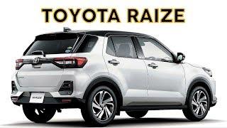 2020 TOYOTA RAIZE OFFICIAL DETAILS | TOYOTA RAIZE COMPACT SUV
