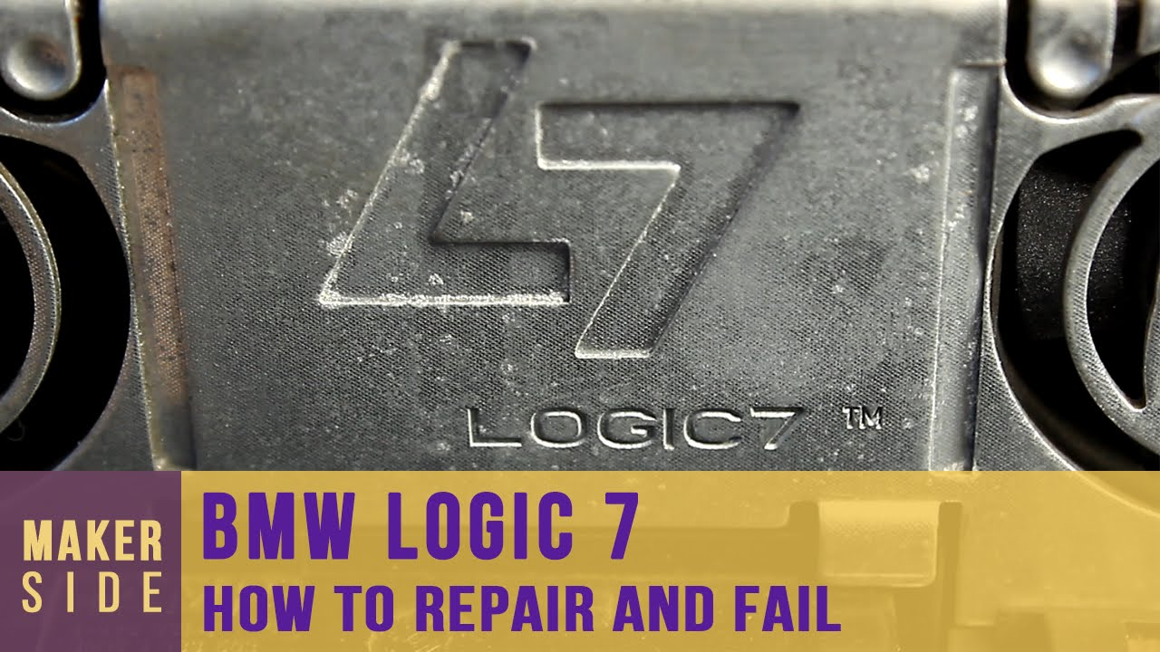 hight resolution of bmw logic 7 repair and fail