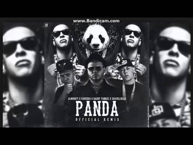 Panda remix farruko