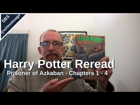 Harry Potter and the Prisoner of Azkaban | Chapters 1-4 | Harry Potter Reread Weekly Vlog