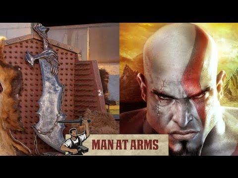 Blades of Chaos God of War  MAN AT ARMS