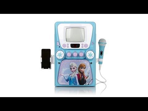 Frozen Deluxe Karaoke with Mic and Frozen Soundtrack