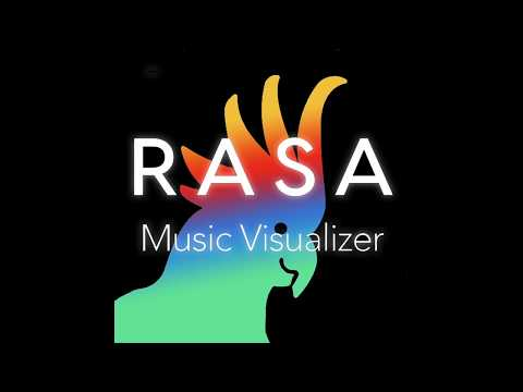 Rasa Music Visualizer app for iOS!