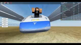 Roblox Hyperloop Simulator Journey ride on the Tesla-X Hyperloop to Quay Valley *ACCIDENT*