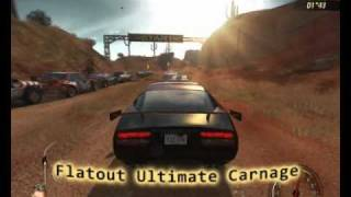 Flatout Ultimate Carnage gameplay