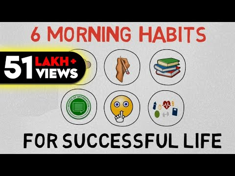 SIX MORNING HABITS OF SUCCESSFUL PEOPLE(HINDI) - by SEEKEN
