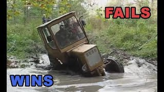 Tractor Fails and Wins Compilation  - Slavic Edition