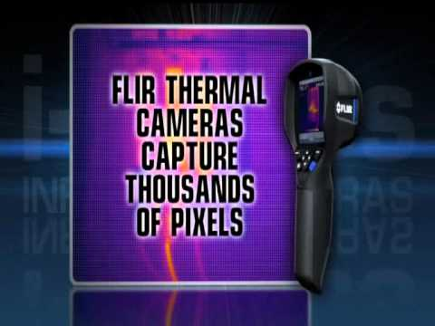 FLIR I3 Infrared Thermal Camera Building Diagnostics
