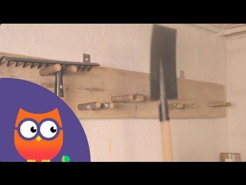 Fabriquer un porte outil de jardin youtube - Fabriquer un porte outils mural ...