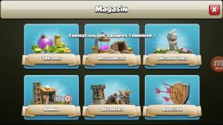 Clash of clans avec nt 25ème