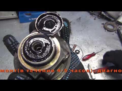 Видео Ремонт турбины двигателя