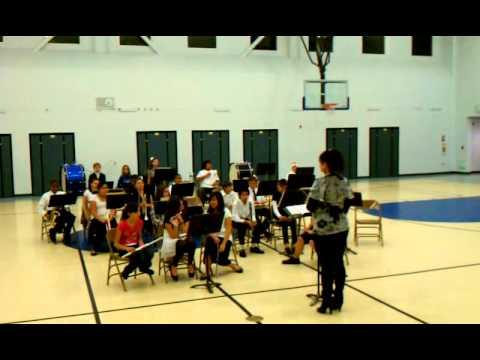 Stella brockman elementary school band.