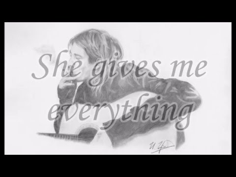 Kurt Cobain - And I Love Her - Lyrics