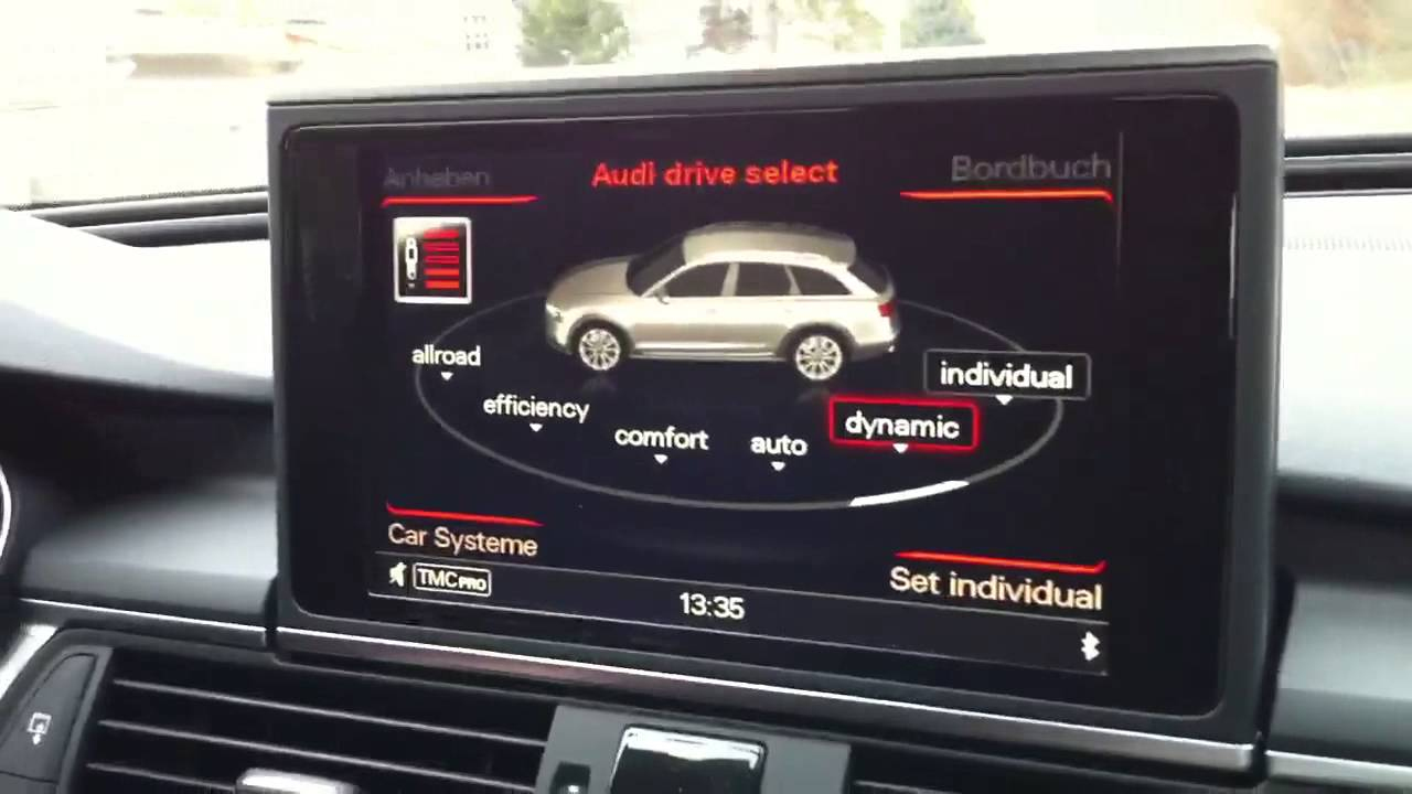 Audi A6 C7 Allroad 3 0 Tdi Biturbo Mmi Youtube