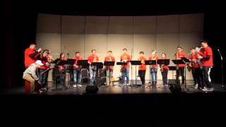 Christmas Jazz Medley (Face Saxophone Ensemble)