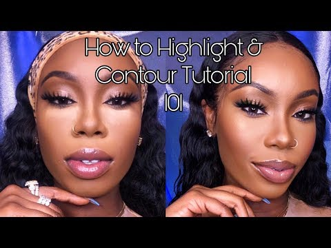 #016 HIGHLIGHT & CONTOUR TUTORIAL 101 (BEGINNERS): HOW TO SNATCH YOUR FACE AND NOSE!