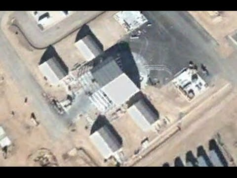 Google Maps Reveals Secret Base With 30-Metre UFO At Area 51 Claims Alien Hunter