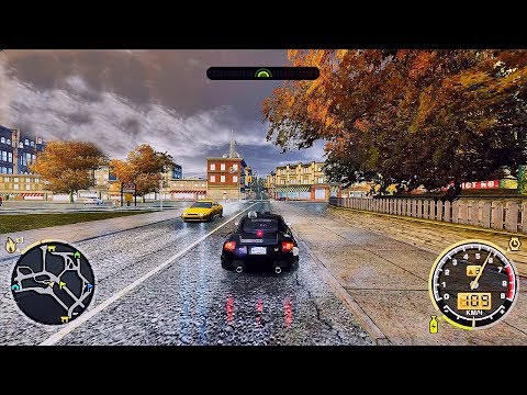 Новый Графон Need For Speed Most Wanted Remastered 2018