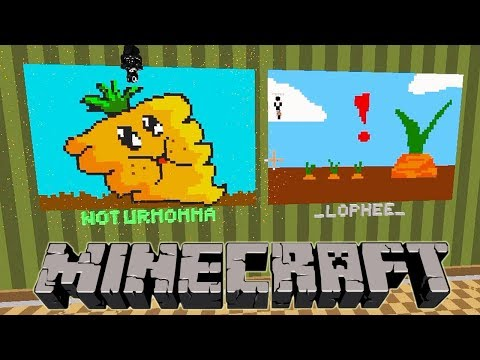 KAWAII FAT CARROT - MINECRAFT