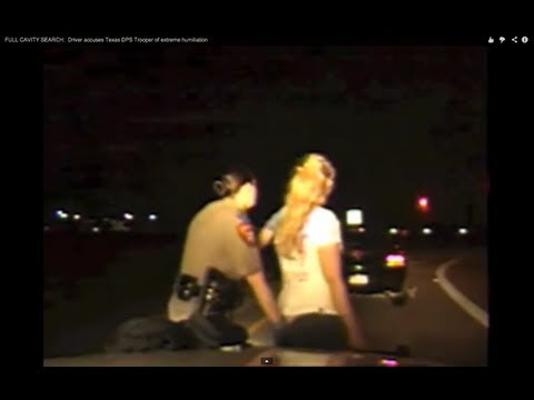 Police Probing Women's Genitals at Traffic Stops