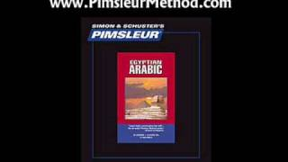 Pimsleur Egyptian Arabic from PimsleurMethod.com