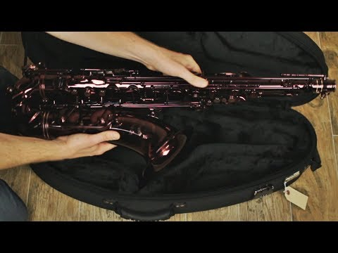 NEW Cannonball BLACK RUBY TENOR Saxophone!!! - BriansThing