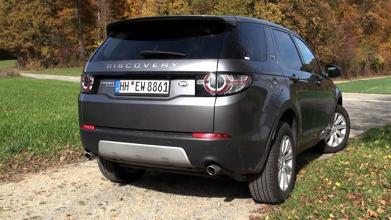 2015 land rover discovery sport 2 2 sd4 190 hp test drive youtube. Black Bedroom Furniture Sets. Home Design Ideas