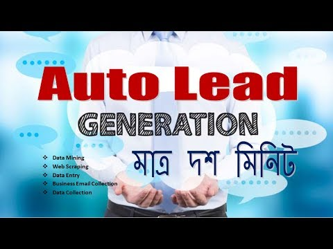 How to  Auto Lead Generation and Business information Collection Only 10 Minutes.
