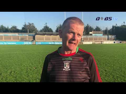 Ballymun Kickhams manager Brendan Hackett chats to DubsTV after Dublin Senior 1 Semi Final win