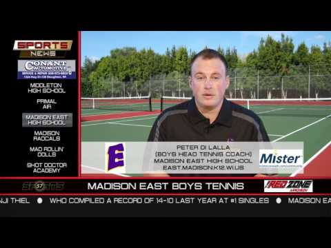 WI57 | The Sports News | Madison East Tennis | Peter Di Lalla | 02/12/17