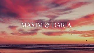 Свадебный фотоклип Максима и Дарьи.