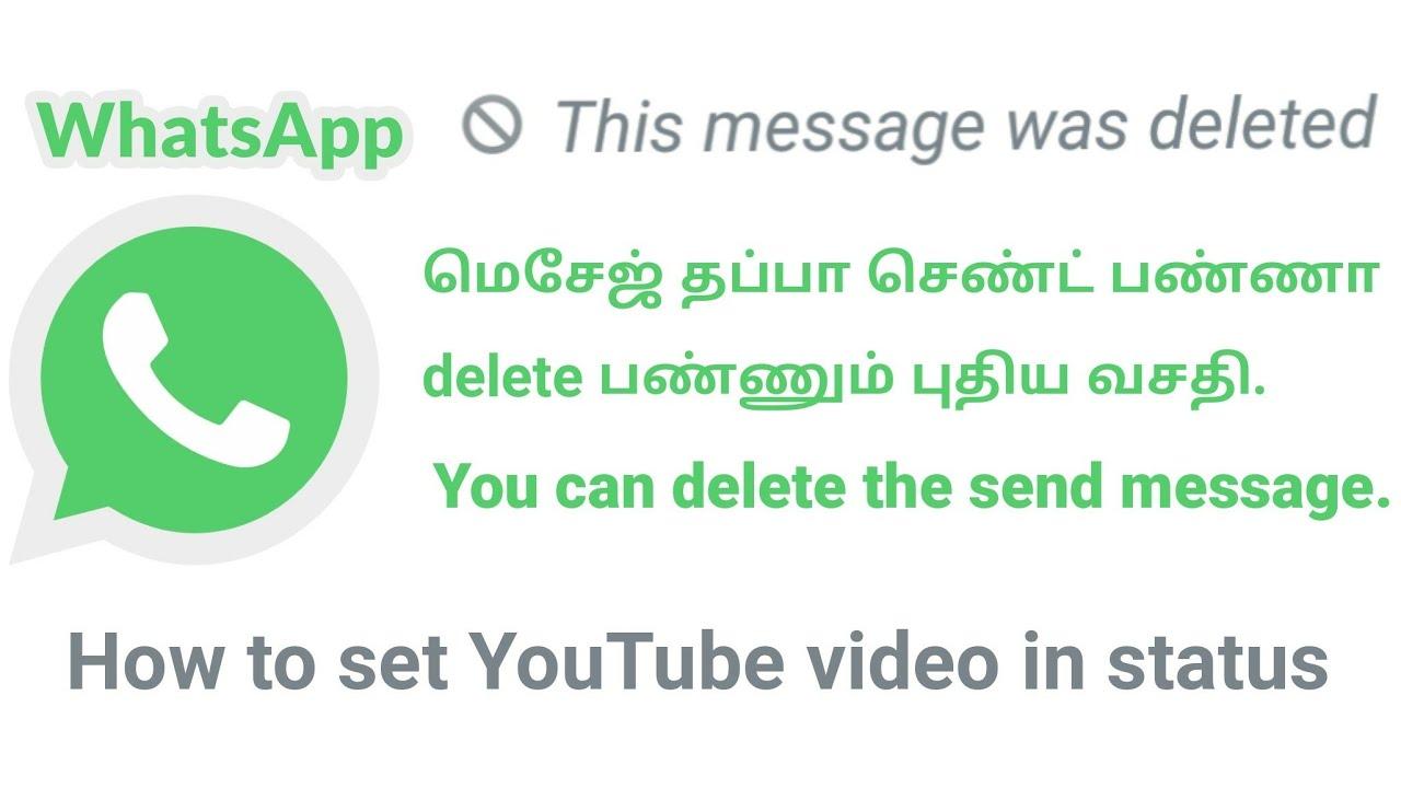 How To Set Youtube Video In Whatsapp Status