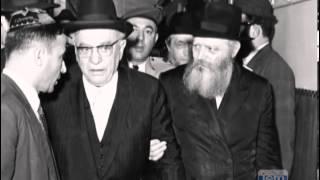 President Shazar Visits the Rebbe