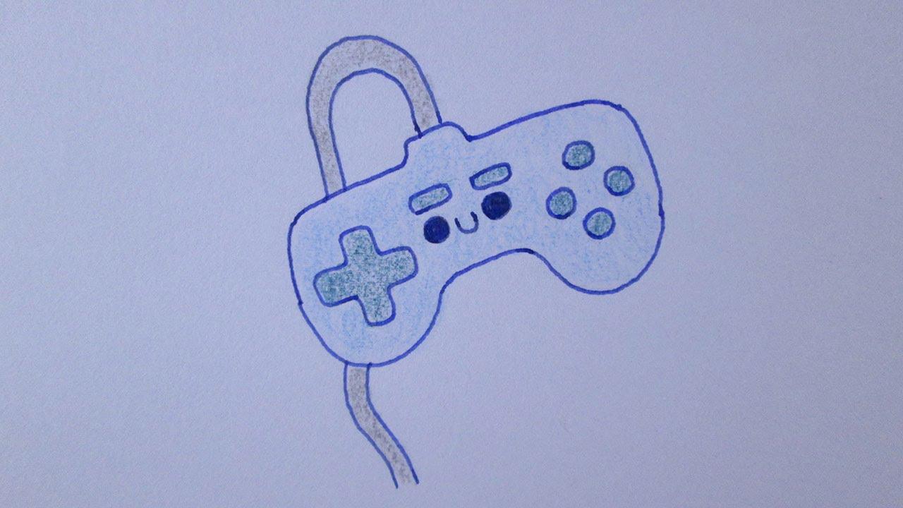 Como Desenhar Um Controle De Videogame By Loblogue
